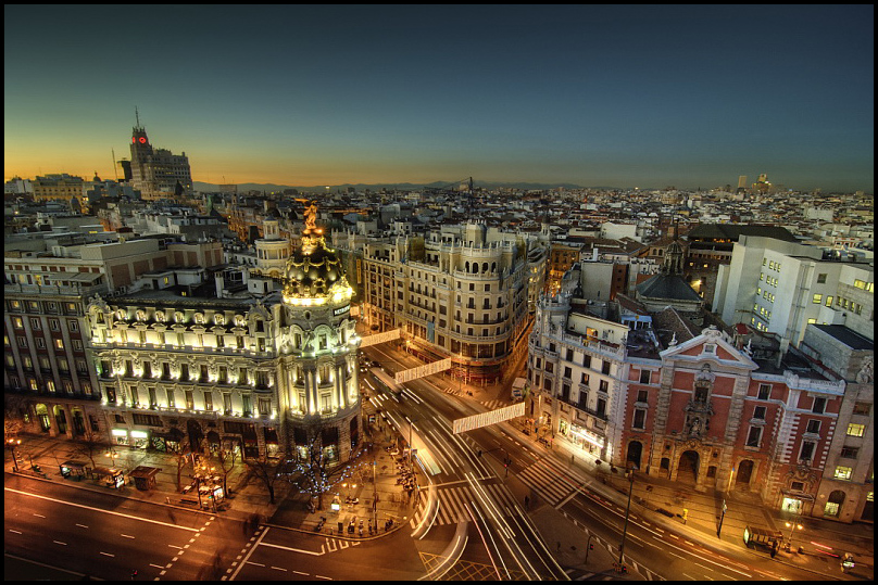 Madrid wishes you a Merry Chiristmas!